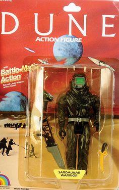La película Dune y sus figuras de acción