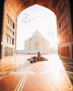 Taj Mahal, Agra, India ♡