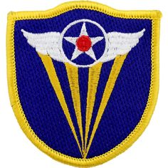 WWII Army Air Corps 4th Air Force Class A Patch