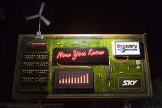 Sky Discovery Channel Billboard