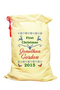 Baby's First Christmas gift Personalised by SpecialEmbroideryKT