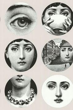 Lina Cavalieri♥ by Piero Fornasetti