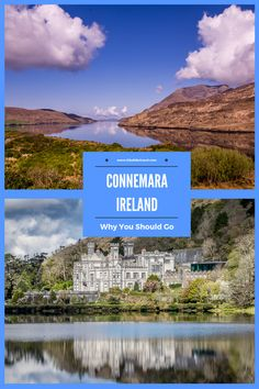 Connemara, Ireland offers a lot - great hiking in the natonal park, the moody Kylemore Abbey, the town of Cong, beautiful offshore islands and Hiking Gifts, Hiking Gear, Connemara Ireland, Wildlife Nature, Outdoor Outfit, European Travel, Trekking, Ireland Hiking, Things To Do