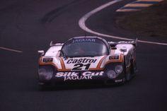 Jaguar XJR-9.  1988 Le Mans 24hr.
