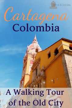 On our cruise of the Panama Canal, we stopped in the beautiful South American port of Cartagena, Colombia and took a walking tour of the Old City.  #cartagena #cartagenacolombia #travelcolombia #cruise #panamacanalcruise
