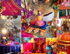 "Arabian Nights, Moroccan / Birthday ""Sommer's Majestic Arabian Night!  "" | Catch My Party"