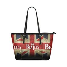 Hangbag The Beatles Custom Leather Tote Bag/Handbag/Shoulder/travel Bag for Women Girls