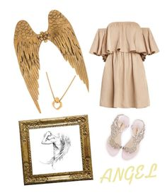 """Angel Wings"" by kayearnold on Polyvore featuring Sophia Webster and Carrera y Carrera"