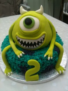 Monsters inc cake by Barbara Lee