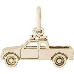 Best Bracelets For Women | Rembrandt Charms Pick Up Truck Charm 14K Yellow Gold *** You can find out more details at the link of the image. Note:It is Affiliate Link to Amazon.