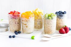 Make a healthy, on-the-go breakfast with this easy vegan recipe for Overnight Oats.