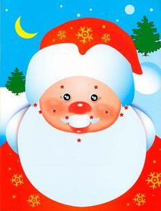 Шаблон. Дед Мороз