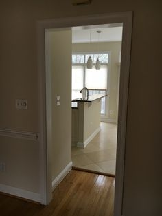 Wall and trim painting Wall paint color: cool platinum  Trim paint color: one coat white.