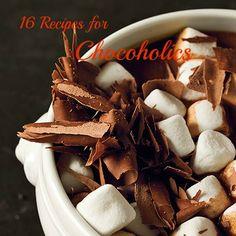 16 chocolate recipes