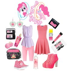 """Pinkie Pie"" by esmeralda-b on Polyvore"