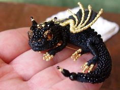 Bead Dragon Brooches By This Russian Artist Will Make You Want To Tame One