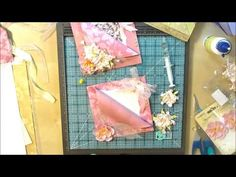 tutorial by Patty Bennett featuring the Simply Scored Tool and Diagonal Scoring Plate from Stampin' Up! to create a pocket card that is SUPER SIMPLE! Visit m...
