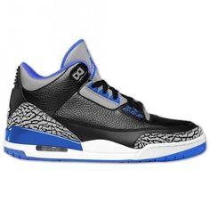 Acxhetez les Chaussuress Nike Air Jordan 3 Retro Sport Blue