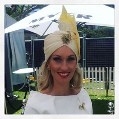 MVBMillinery @marilynvandenberg We're bringing Turbans back, yep! #turban #fashion #couture #magicmillions 2016