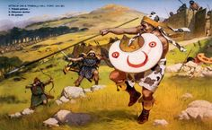 La Pintura y la Guerra. Sursumkorda in memoriam Greek Warrior, Tribal Warrior, Historical Art, Historical Pictures, Iron Age, Military Art, Military History, Guerrero Tribal, Ancient History