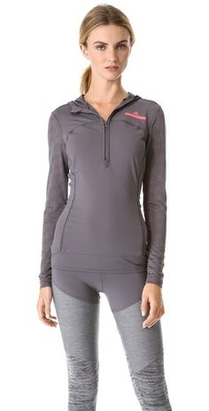 Ashlees Loves: Stella McCartney worksout! info @ashleesloves.com #adidas #byStellaMcCartney #running #hoodie #women's #designer #fashion #workout #apparel #style