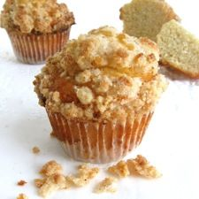 Easy Holiday Eggnog Muffins:  Take that eggnog in the fridge and make Eggnog Muffins for tomorrow morning. Make the batter today, spoon into the muffin tin, refrigerate overnight, bake tomorrow morning.