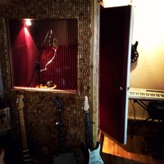 Have a sound booth to record in and play music as loud as possible