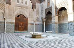 Medersa Attarine, Fès, Maroc #fes #maroc #medina
