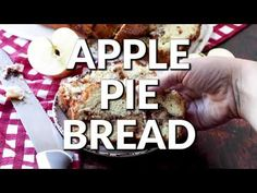 Apple Pie Bread is a homemade, sweet and moist dessert bread and has a layer of yummy brown sugar with chunks of fresh apples. Apple Pie Bread, Apple Pie Cake, Best Apple Pie, Fruit Bread, Baked Apple Dessert, Apple Dessert Recipes, Banana Bread Recipes, Apple Recipes, Bread Cake