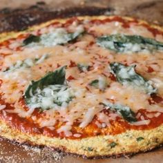Cauliflower Pizza Crust Recipe by VintageMixer