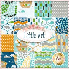 Little Ark 18 FQ Set By Carina Gardner For Riley Blake Designs: Little Ark is a collection by Carina Gardner for Riley Blake Designs. 100% Cotton.