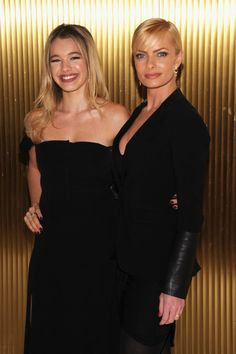 Sadie Calvano and Jaime Pressly attend the 44th annual Peace Over Violence Humanitarian Awards
