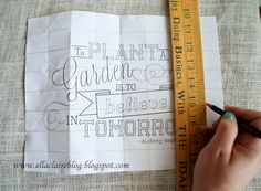 TUTORIAL that may be Helpful ~~{Ella Claire}: {Simplified} Chalkboard Drawing Tutorial Chalk Typography, Chalkboard Lettering, Vintage Typography, Typography Design, Hand Lettering, Chalkboard Ideas, Chalkboard Writing, Lettering Ideas, Vintage Logos