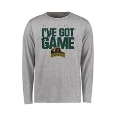 Baylor Bears Youth Got Game Long Sleeve T-Shirt - Ash