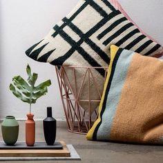 ferm LIVING Wire Basket and Kelim cushions: http://www.fermliving.com/webshop/shop/cushions.aspx