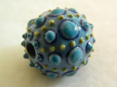This artist's beautiful porcelain beads have been purchased to be in Oscar night gift bags!  Impressive!  $35 on Etsy.com