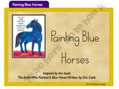 "Painting Blue Horses.  My daughter could have written this book.  When Becky was a little girl...""Blue Horses"" was her favorite thing to draw!"