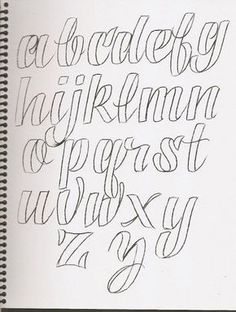 cursive alphabet in grafitti tagging hand writing Alphabet Design, Hand Lettering Alphabet, Doodle Lettering, Creative Lettering, Typography Letters, Brush Lettering, Cool Fonts Alphabet, Handwriting Fonts Alphabet, Lettering Styles Alphabet