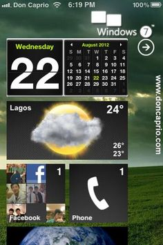 Change your iPhone UI to Android, Windows Phone 7 or Mac OS X Lion