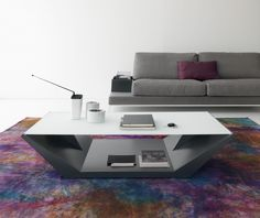 Modern Compar Nido Coffee Table with Ash Grey Base and Glass Top http://www.furnituremind.co.uk/product.php/4096/12/modern-compar-nido-coffee-table-with-ash-grey-base-and-glass-top