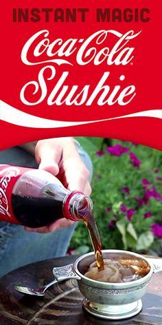 Instant Magic Coca-Cola Slushie