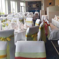 GAA THEMED WEDDING. KERRY V MAYO   WWW.JACKSCROMANE.COM Our Wedding, Table Decorations, Weddings, Furniture, Home Decor, Mariage, Wedding, Interior Design, Marriage
