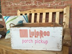 LuLaRoe Porch pickup decal/sticker by DownSouthDesignComp on Etsy https://www.etsy.com/listing/291553831/lularoe-porch-pickup-decalsticker
