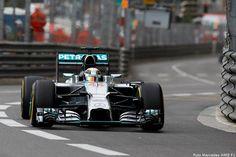 Lewis Hamilton, ancora lui. A Montecarlo le libere 3 sono cosa sua, ma Ricciardo gli soffia sul collo