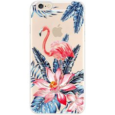 Transport to a beach getaway with these tropical-inspired iPhone cases. Choose from a variety of designs to fit your mood and keep your phone free from dirt and scratches. Iphone 5s, Iphone 7 Plus, Iphone Cases, Flamingo Flower, Iphone Models, Good Vibes, 6s Plus, Bloom, Flowers