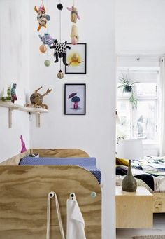 Integrate kids areas seamlessly into your own. | 17 Scandinavian Kid's Room…