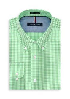 Tommy Hilfiger  Non Iron Slim Fit Dress Shirt