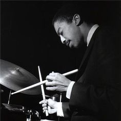 "didierleclair: ""THE KEEPER OF JAZZ TIME…Tony Williams, jazz masterSource of pic: pinterest.com """