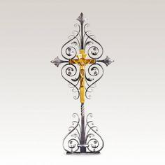 Grabkreuz »Rodona« aus Schmiedeeisen • Hochwertige Schmiedekunst & Handarbeit • Jetzt versandkostenfrei kaufen bei ▷ Serafinum.de