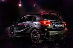 Erika is een creatie van de Mercedes AMG Performance Studio